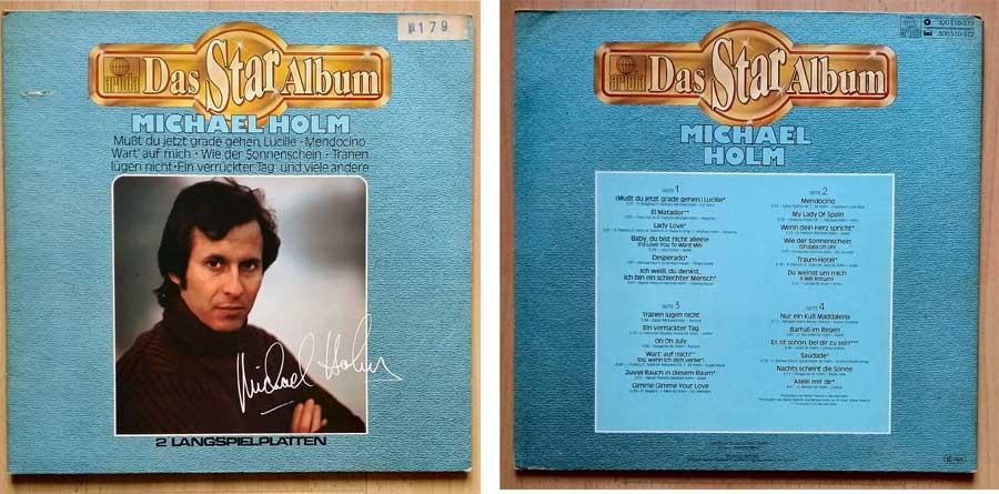 2 Langspielplatten vom Schlagerstar Michael Holm