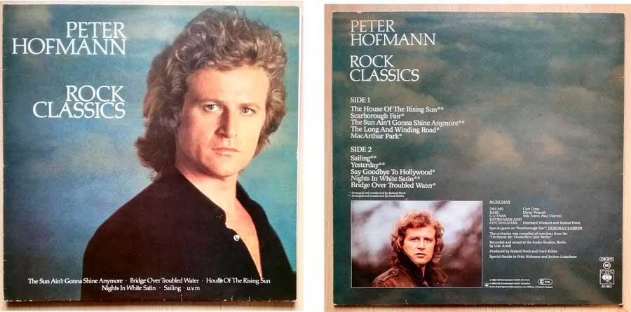Rock Klassiker von Peter Hofmann auf LP - Classics