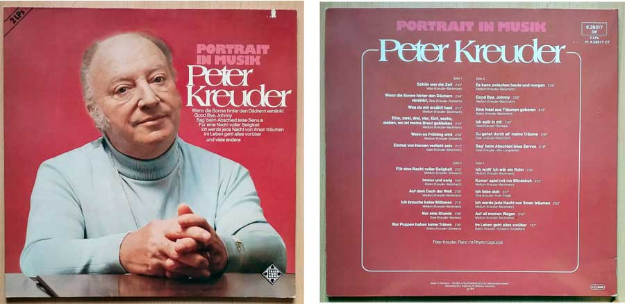 Peter Kreuder Country-Musik auf Doppel-LP