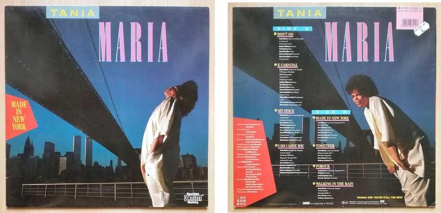 Latin und Jazz auf LP Schallplatte von Tania Maria