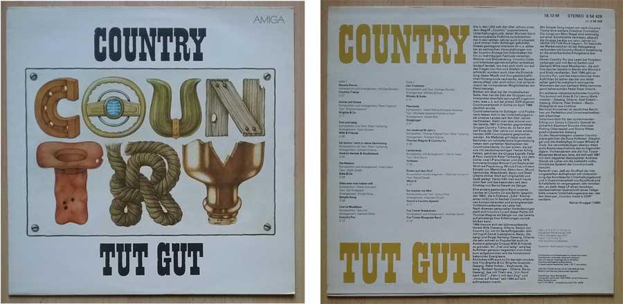 LP aus Berlin, ex DDR mit Country-Musik