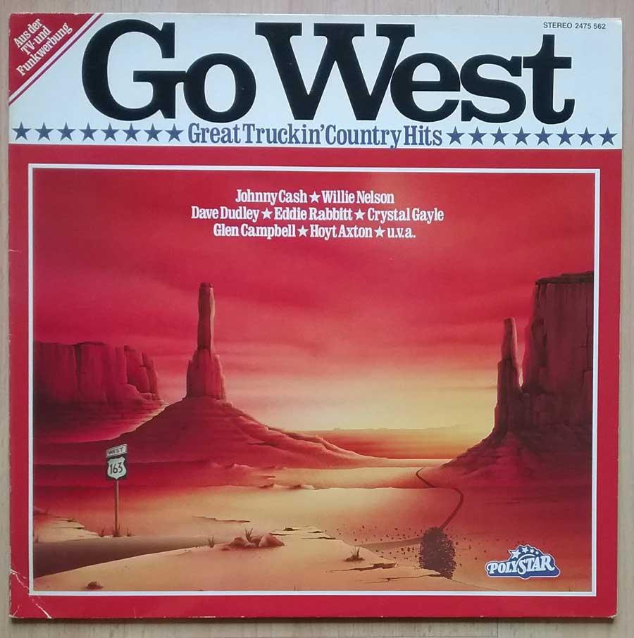 Country-Rock und Truckersongs auf Vinyl LP