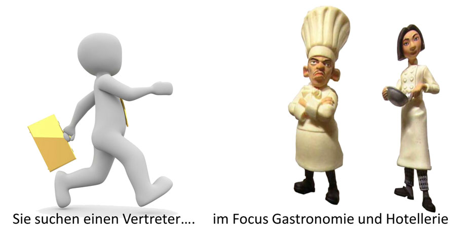 Verkäufer für Gastronomietechnik und Hotelausstattung