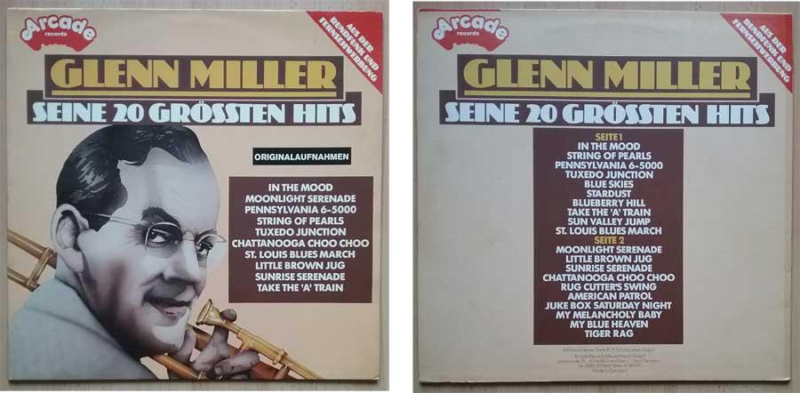 Glenn Miller mit seinen 20 Grössten Hits auf Langspielplatte