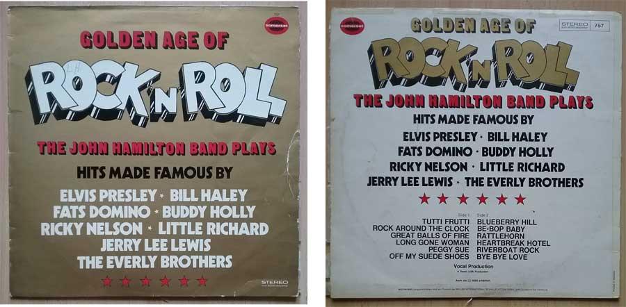 Konvolut Rock & Roll Erfolge auf Langspielplatte