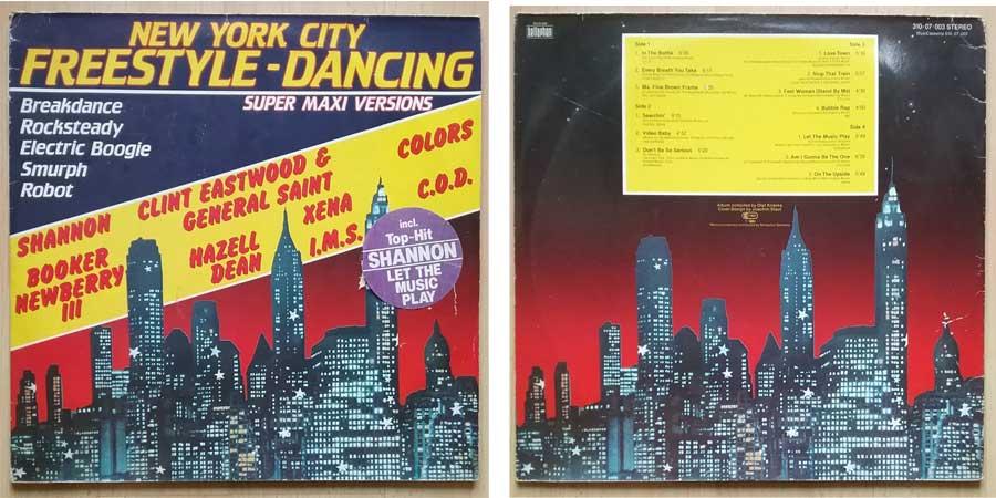 Freestyle-Dancing auf 2 Langspielplatten