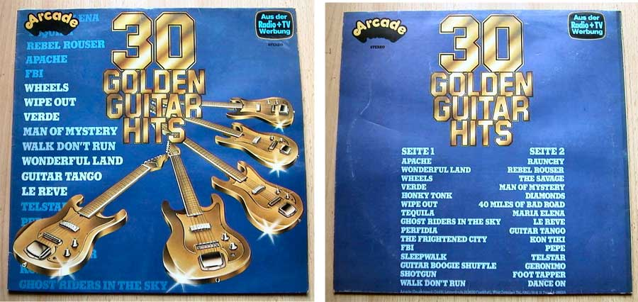 30 Golden Guitar Hits - LP Vinyl von 1978