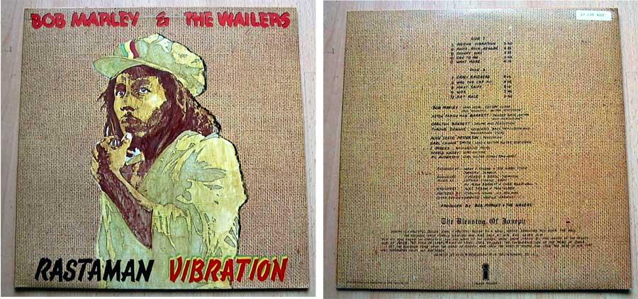 Bob Marley & The Wailers - Rastaman Vibration - LP Vinyl von 1976