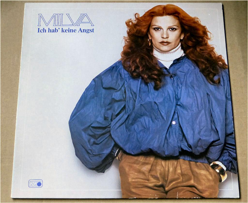 Langspielplatte - Milva von 1981