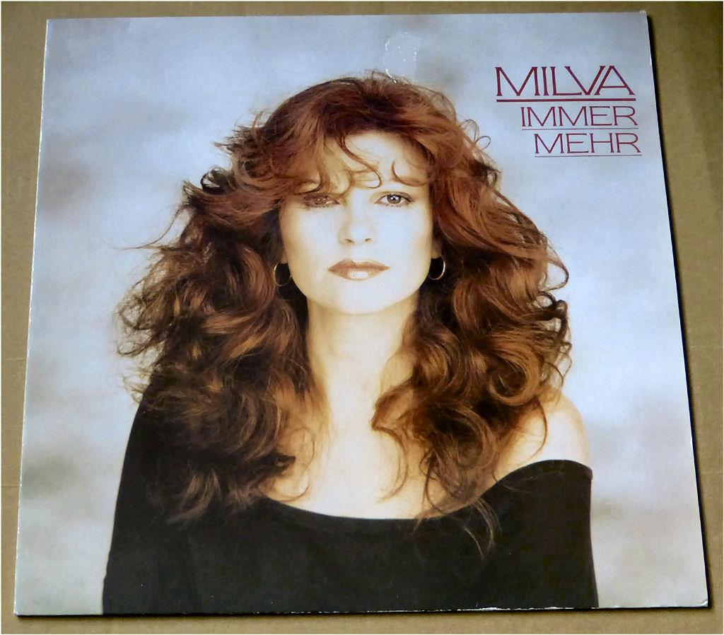 Schallplatte 12 Zoll von Milva - Immer mehr