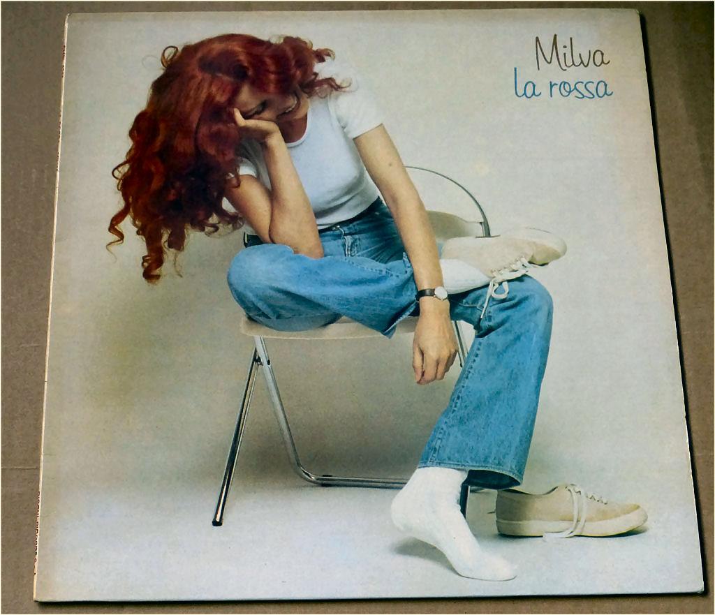 La Rossa - LP von Milva