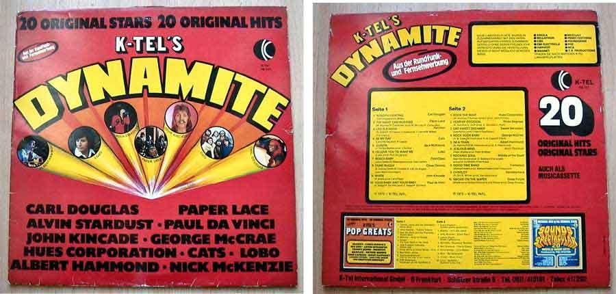 20 Original Stars - 20 Original Hits - LP Vinyl 1975