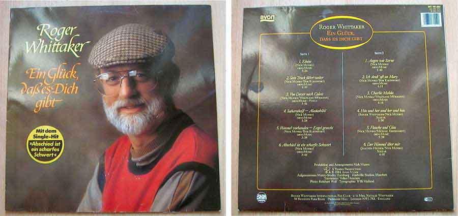 Roger Whittaker - Ein Glück, daß es Dich gibt - LP Vinyl von 1984