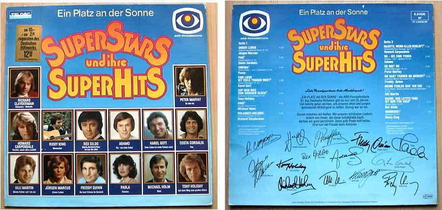 Langspielplatte, Compilations die Superstars