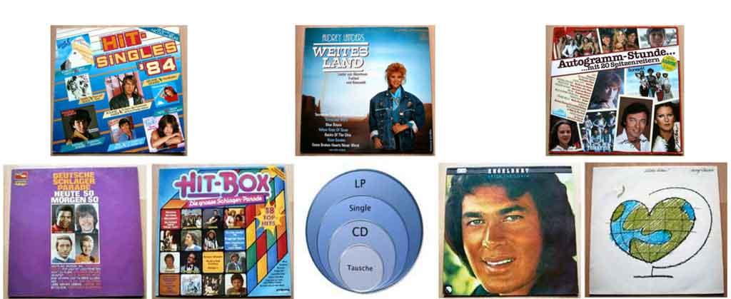 Internationale Hits auf Langspielplatten - Banner