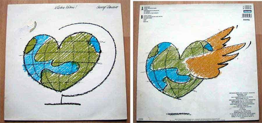 Georg Danzer - Liebes Leben - LP Vinyl von 1987
