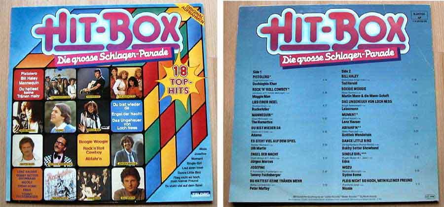 Hit-Box - Die grosse Schlager-Parade - LP Vinyl von 1981
