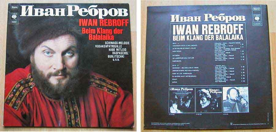Iwan Rebroff - Beim Klang der Balalaika - LP Vinyl von 1969