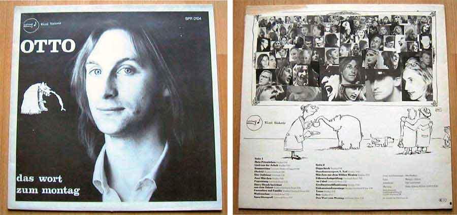 Otto - Das Wort Zum Montag - LP Vinyl von 1977