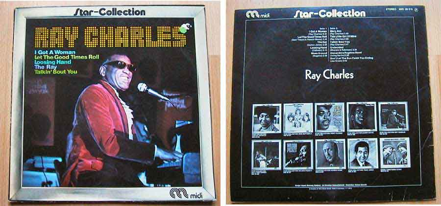 Ray Charles - Star-Collection, Vinyl Schwarzes Gold