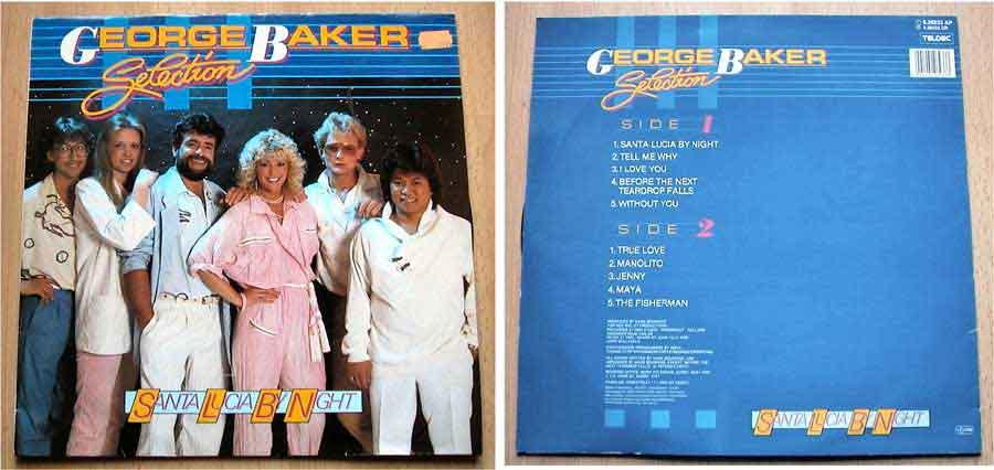 George Baker Selection - Santa Lucia By Night - LP Vinyl von 1985