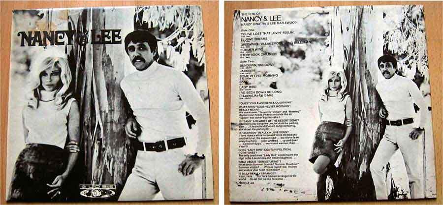 Nancy Sinatra und Lee Hazelwood - Mega Rare - LP Vinyl von 1968