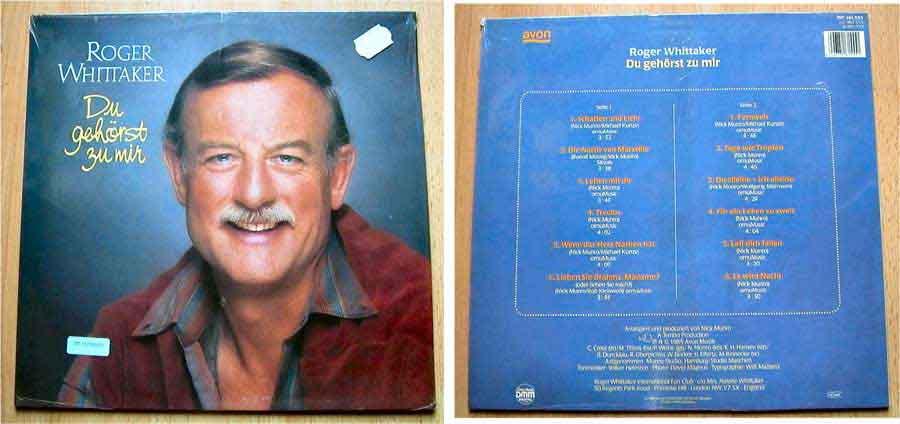 Roger Whittaker - Du gehörst zu mir - LP Vinyl von 1985