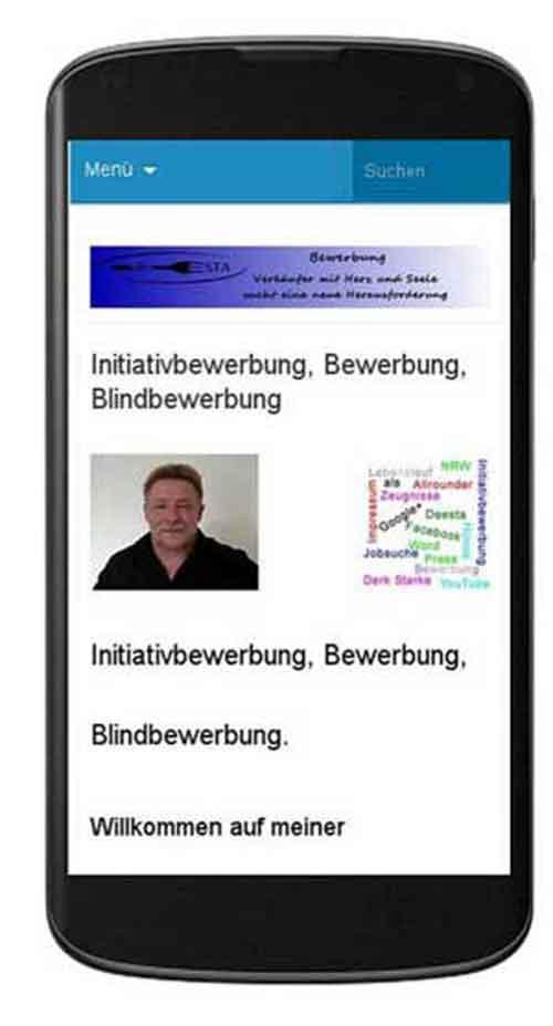 initiativbewerbung mobil
