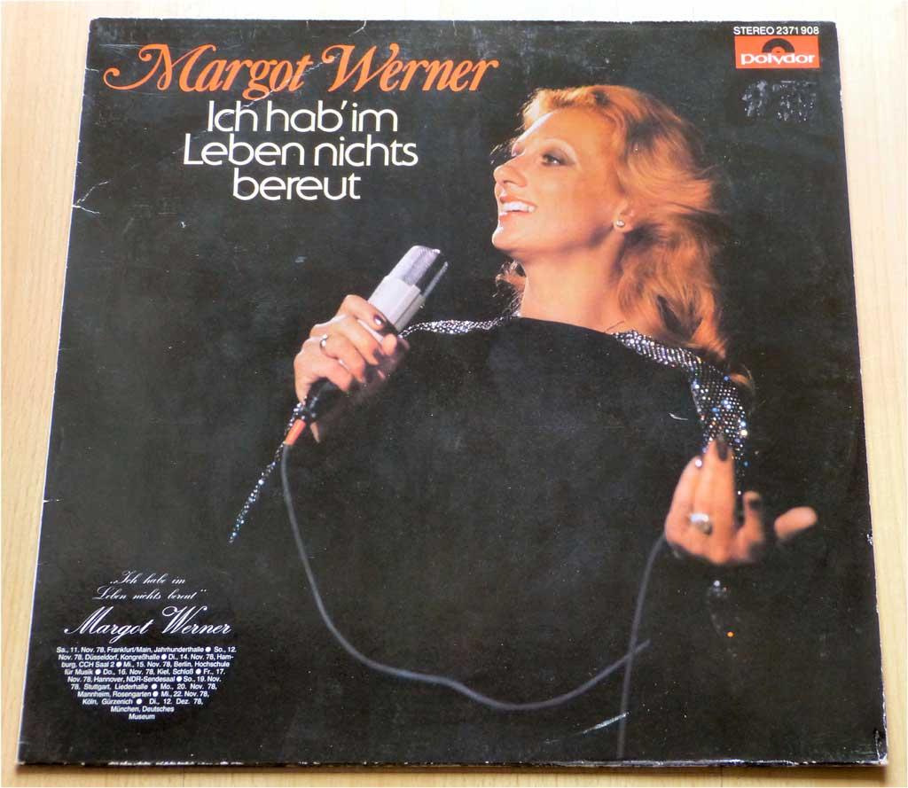 Altstimme Margot Werner Schallplatte