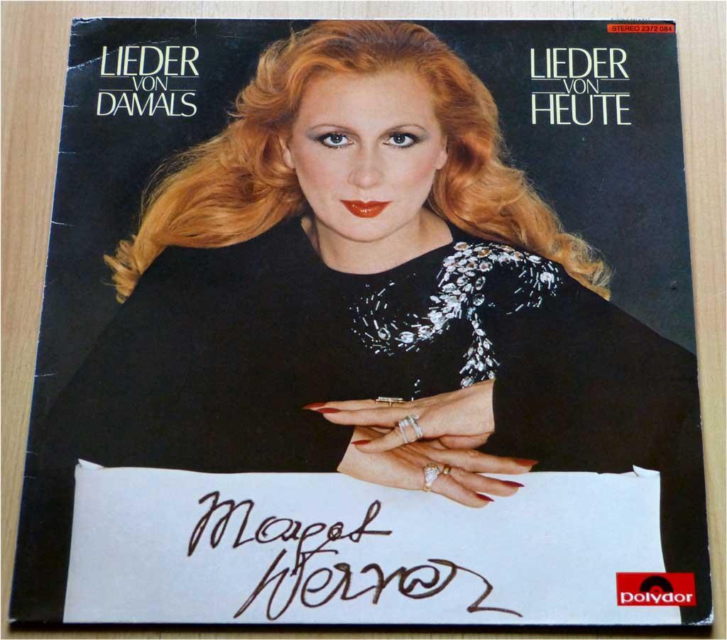 Lieder damals und heute Schallplatten