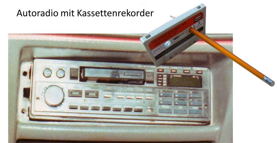 Autoradios mit Kassettenlaufwerk
