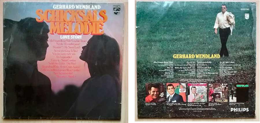 Gerhard Wendland Melodien auf LP