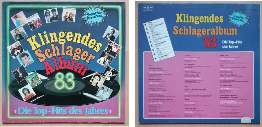 Die Top-Hits des Jahres 1983 auf Langspielplatte