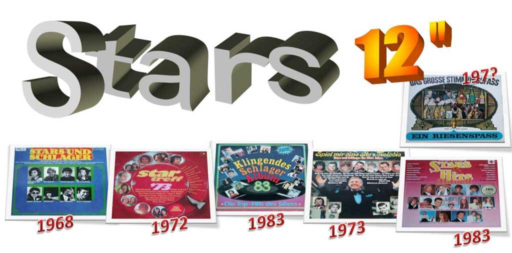 Lovesongs, Oldiesammlung auf Schallplatten der 60er bis 80er