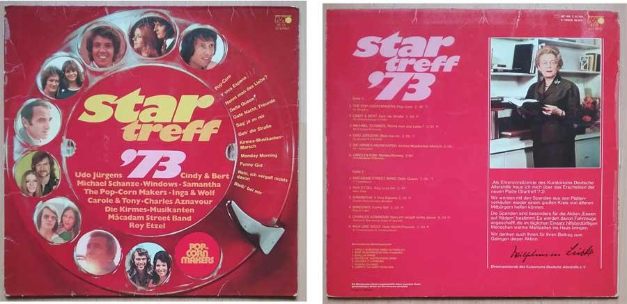 Star Treff 1973 - Oldiesammlung auf LP