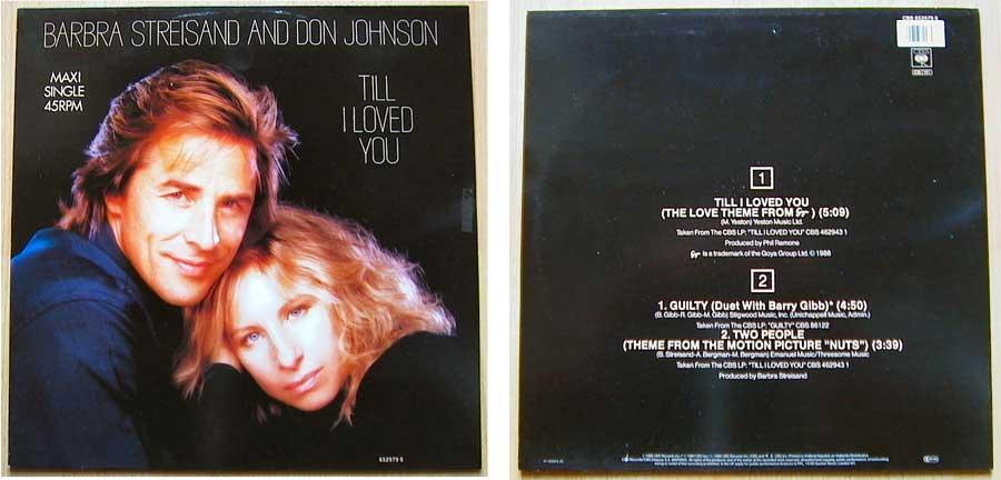 Barbra Streisand And Don Johnson auf Vinyl, Maxi-Single