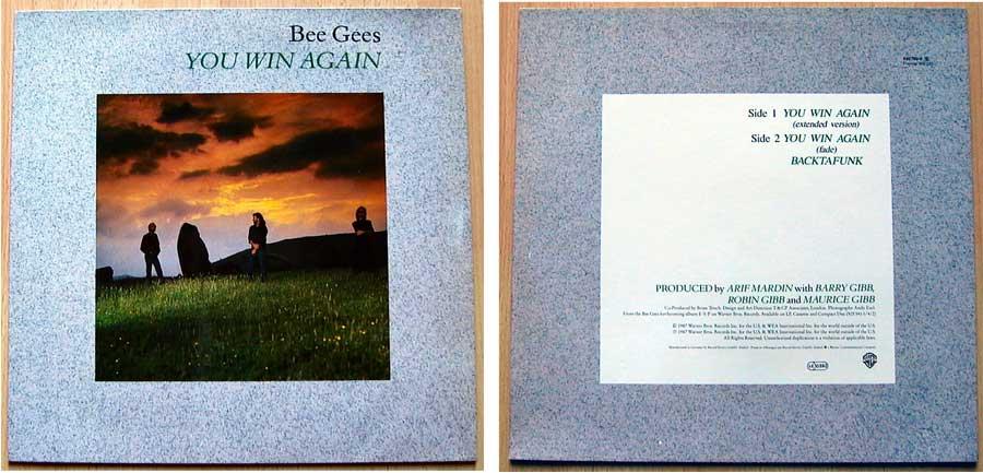 Bee Gees auf Vinyl, Maxi-Single