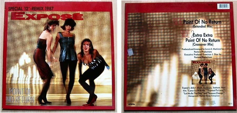 Expose auf Vinyl, Maxi-Single