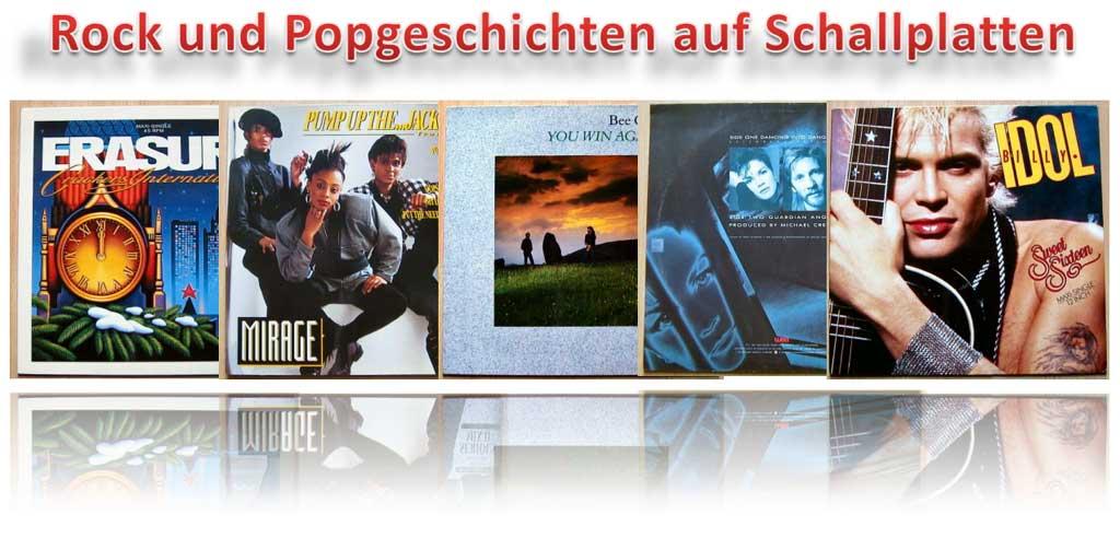 Rock und Popgeschichten - Banner