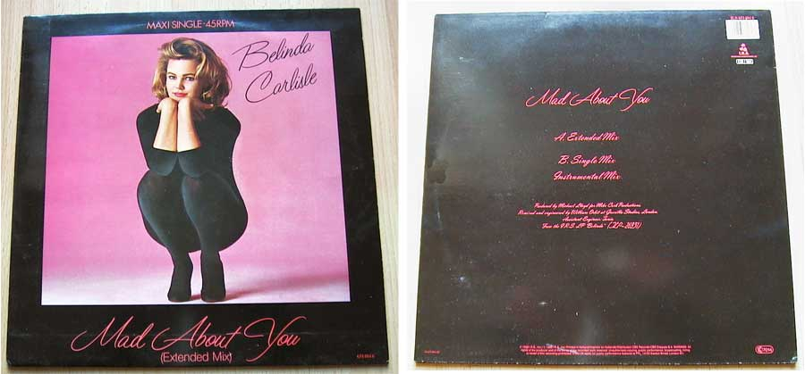 Belinda Carlisle - Mad About You - Vinyl Maxi-Single von 1986