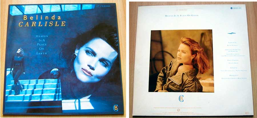 Belinda Carlisle - Heaven Is A Place On Earth - Vinyl Maxi-Single von 1987