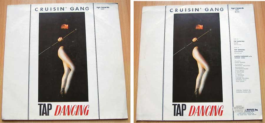 Cruisin Gang - Tap Dancing - Vinyl Maxi-Single von 1984