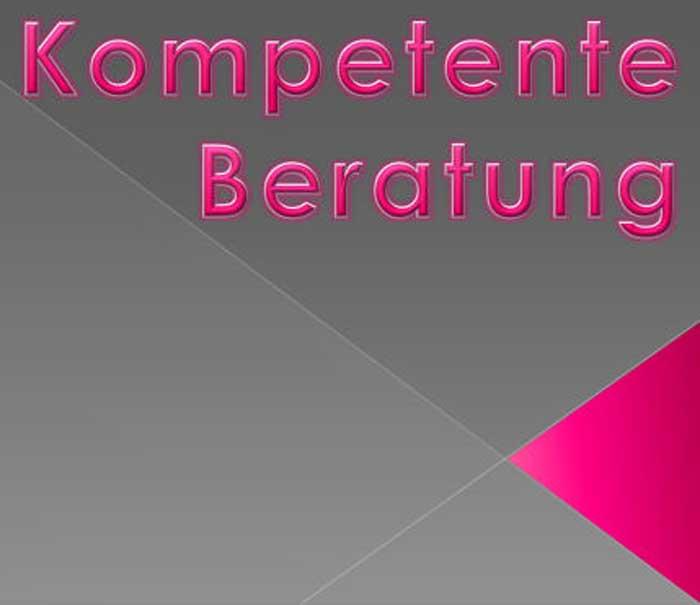 Kompetente Beratung Banner