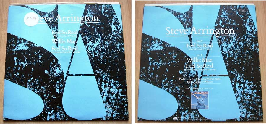 Steve Arrington, Feel So Real, Schallplattenliebhaber