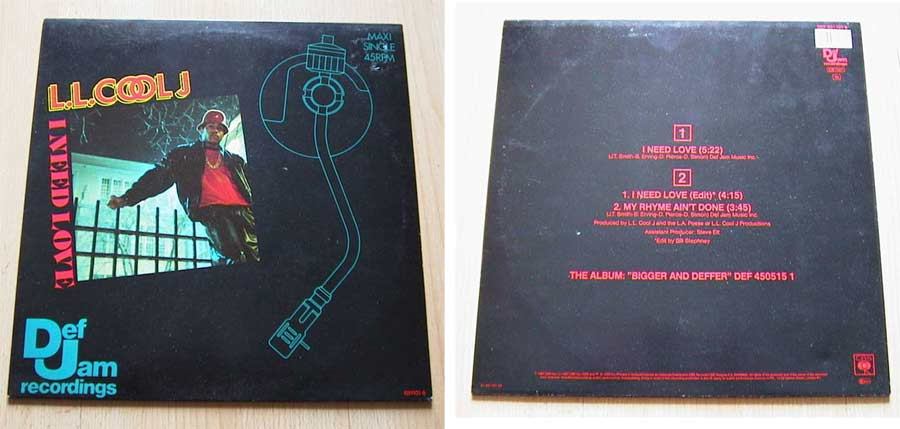 Bigger and Deffer - Vinyl Maxi Single