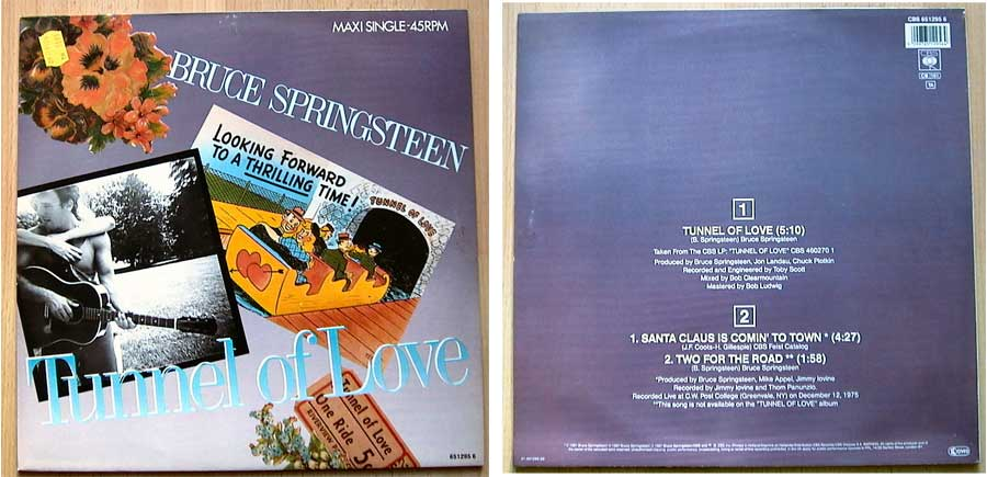 Bruce Springsteen - Tunnel Of Love auf Vinyl, Maxi-Single