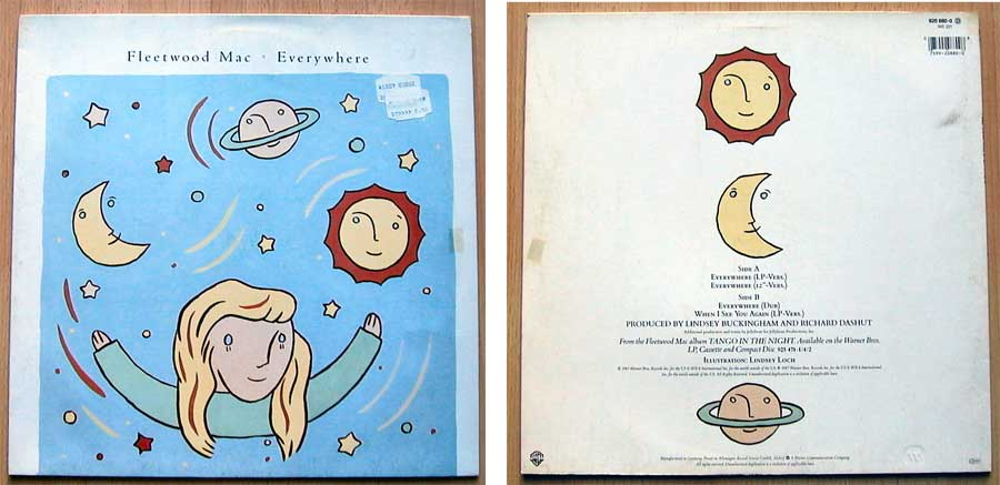 Fleetwood Mac ‎– Everywhere auf Vinyl, Maxi-Single