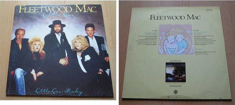 Fleetwood Mac Little Lies - Vinyl Maxi Single