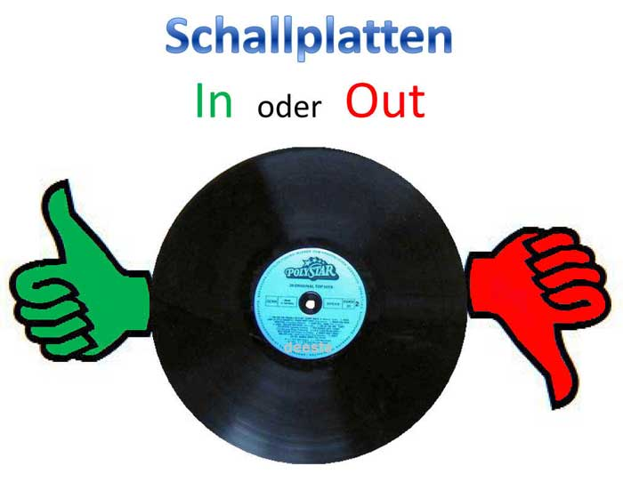 In oder Out Schallplatten