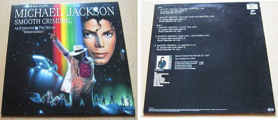 Michael Jackson - Privatsammlung, Vinyl Maxi